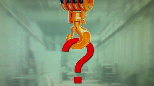 Movimentazione dei carichi: sicurezza degli accessori di sollevamento