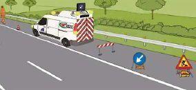 Attività in autostrada: dispositivi di protezione e limitazioni operative