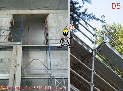 Le immagini dell insicurezza edilizia for Piani ponte veranda