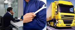 Sicurezza in ufficio, nella manutenzione e alla guida di un camion