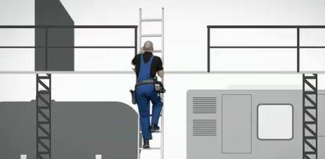 Regole, test e video per la sicurezza nell'uso delle scale portatili