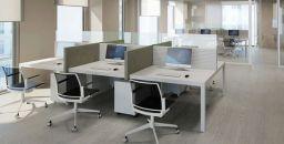 Ufficio Lavoro : Businesswoman leader in ufficio moderno con i lavoratori di lavoro