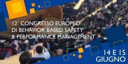 Congresso Europeo di Behavior-Based Safety e Performance Management