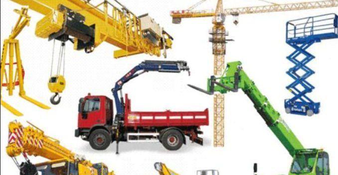 Cantieri edili: indicazioni per il sollevamento dei carichi
