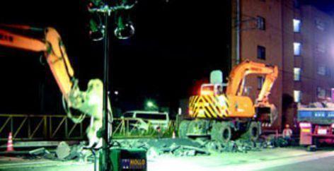 Cantieri in sicurezza illuminazione impianti idrici e