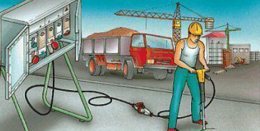 La prevenzione dei rischi elettrici nei cantieri edili