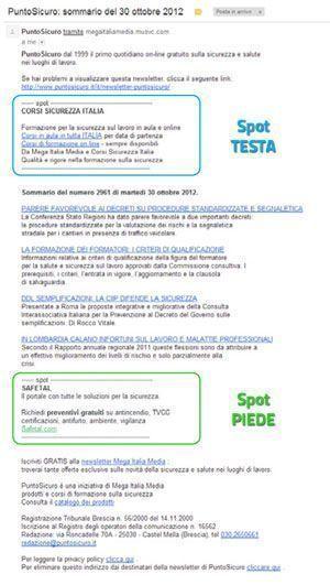 Newsletter di PuntoSicuro