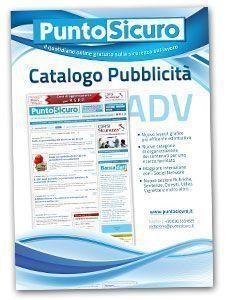 Scarica il Catalogo della Pubblicità di PuntoSicuro in PDF